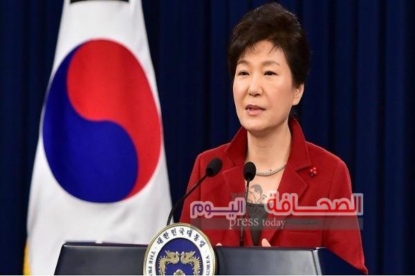 رئيسة كوريا الجنوبية تبدى إستعدادها للتخلى عن السلطة