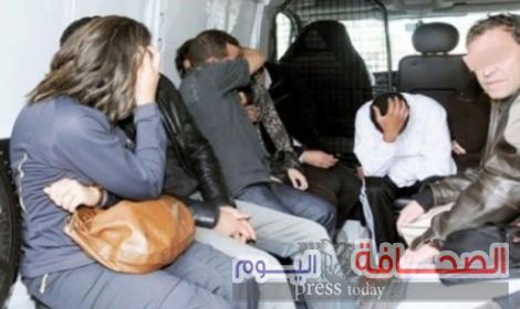 حبس المتهمين فى قضية تبادل الزوجات