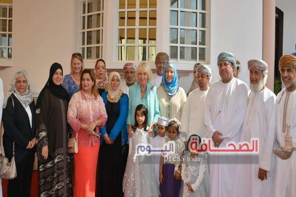 بالصور :الأميرة كاميلا دوقة كورونول تزور مشروع دار الحنان بسلطنة عمان