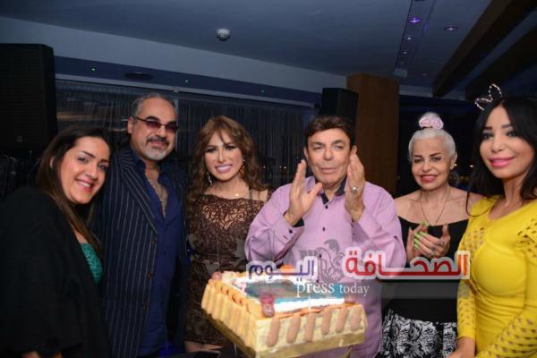 بالصور: خبيرة التجميل مها عثمان تحتفل بعيد ميلادها على ضفاف النيل