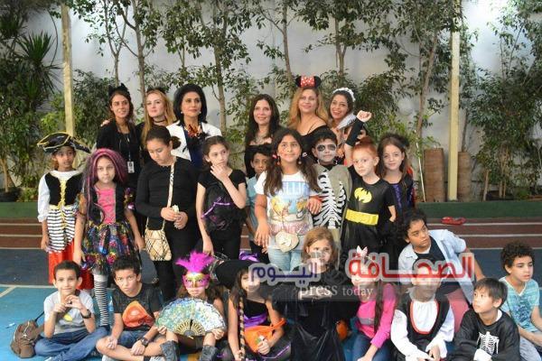 بالصور .. أطفال الدبلوماسيين الأجانب يشاركون إحتفالية عيد الهالوين بالقاهرة