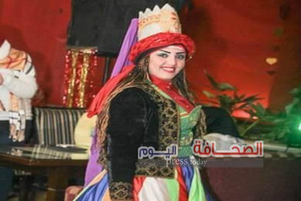 هنا مصطفى : أول راقصة تنورة فى الشرق الاوسط