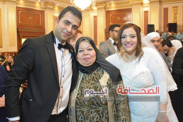 بالصور .. زفاف أحمد أشرف ومنة عمر بدار الحرس الجمهورى