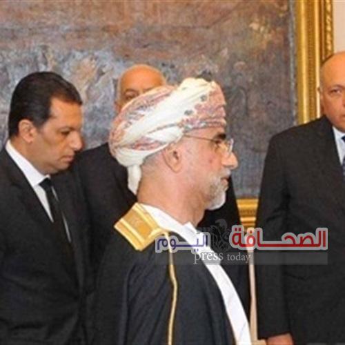الرئيس السيسي  يتسلم أوراق اعتماد  السفير الدكتور علي العيسائي سفير  سلطنة  عُمان