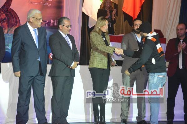 إفتتاح الدورة الأولي من مهرجان الحرية الدولي المسرحي بالإسكندرية