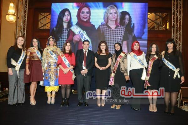 بالصور : اللبنانية أماني الجردي ملكة المسئولية الاجتماعيه لعام 2016