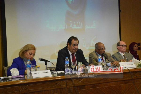 إفتتاح المؤتمر الثانى للاستشراق والثقافة العربية بكلية الالسن