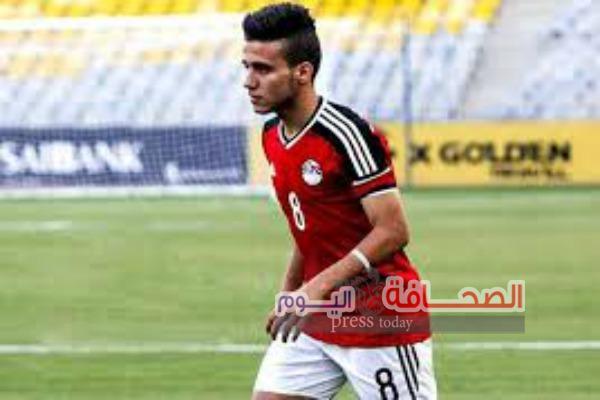 """أحمد الشناوى  يهنئ """"مصطفى فتحى """" على إعارته لنادى تورينتو الأيطالى"""