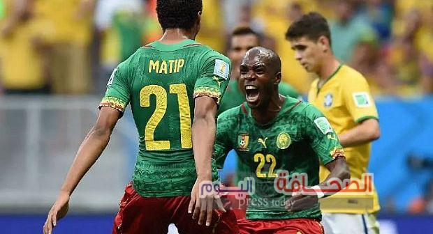 عاجل : الكاميرون يقترب من تصدر المجموعة  فى كأس الأمم الأفريقية