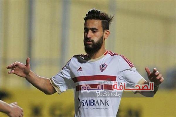 """هل يرحل مهاجم  الزمالك """"باسم مرسى """"من القلعة البيضاء؟"""