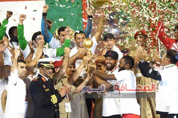 منتخب سلطنة عمان يفوز ببطولة كأس العالم العسكرية لكرة القدم