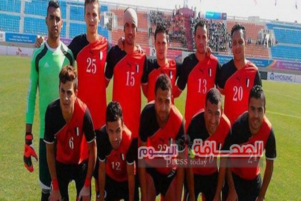 منتخب مصر يتوجه الى سلطنة عمان للمشاركة فى كأس العالم العسكرية