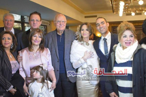 بالصور ..  عقد قران المخرجة لينا مواهب ومحمد رياض