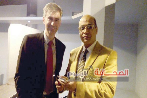 """السفير السويسرى بالقاهرة فى حوار لـ """"الكاتب الصحفى محمد السيد حماده"""""""