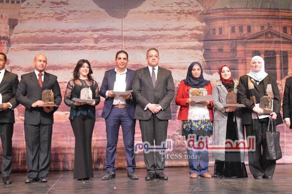 """بالصور .. وزراء وسفراء وفنانين فى الإحتفال بعيد الأثريين """"21 """"بدار الأوبرا المصرية"""