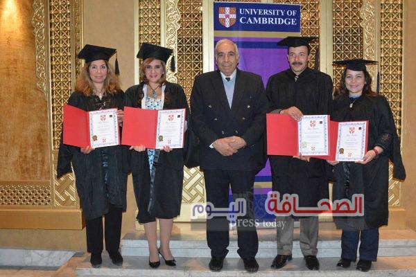 بالصور ..   جامعة كامبردج تمنح الدكتوراه الفخرية لأربعة مصريين