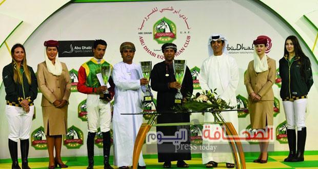 سلطنة عُمان  تفوز  ببطولة التاج الثلاثي العربي للفروسية