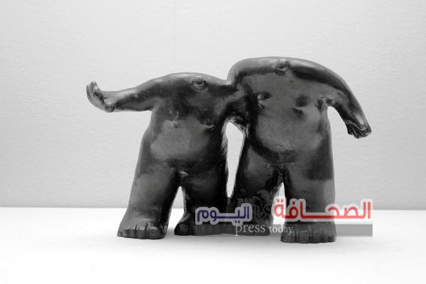 """إفتتاح  معرض """"شخوص"""" للفنان أحمد عسقلاني بجاليري مصر"""