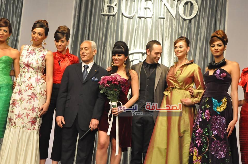 بالصور: عرض أزياء للمصمم العالمى جيرمى بينو على نيل القاهرة