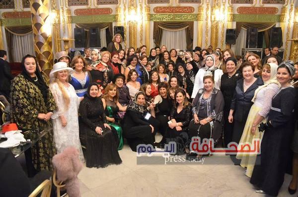 بالصور .. حفل إستقبال لسيدات أعمال وفود 20 دولة بقصر محمد على