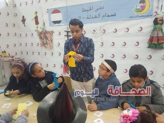 بالصور: اليمن تشارك في معرض صفاقس لكتاب الطفل بتونس