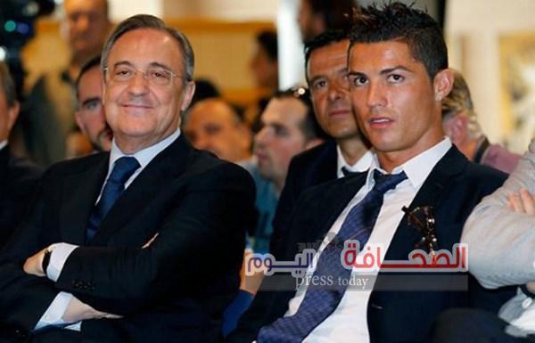 """تعرف على : ميعاد رحيل """"رونالدو """"عن ريال مدريد"""