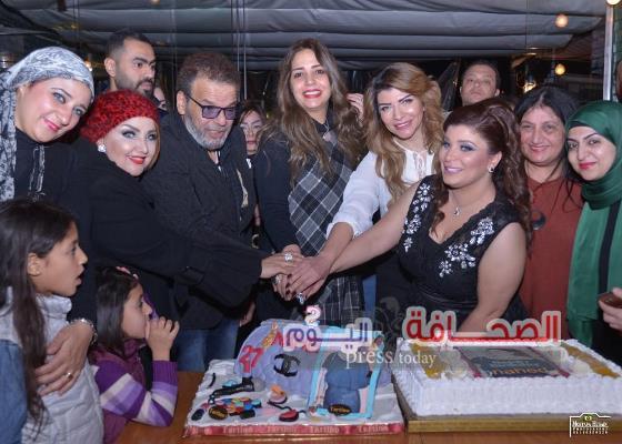 بالصور .. الإعلاميه ناهد عوني تحتفل بعيد ميلادها