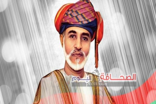 السلطان قابوس بن سعيد سلطان عمان يهنئ محمد بن سلمان
