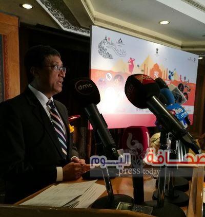 إنطلاق فعاليات مهرجان الهند على ضفاف النيل