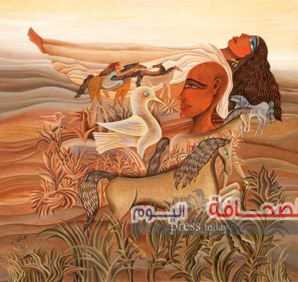 """معرض """"الـــــذاكـــــرة الزجـــزاجـــيــه"""" للفنان مصطفى الرزاز بقاعة بيكاسو"""