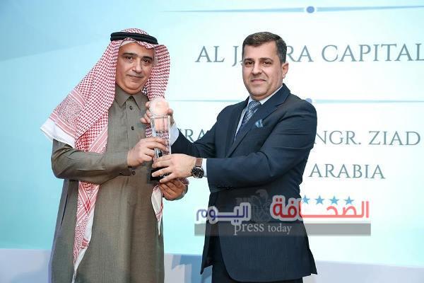 """""""زياد أبا الخيل"""" أفضل رئيس تنفيذي لشركة وساطة مالية في المملكة لعام 2016"""