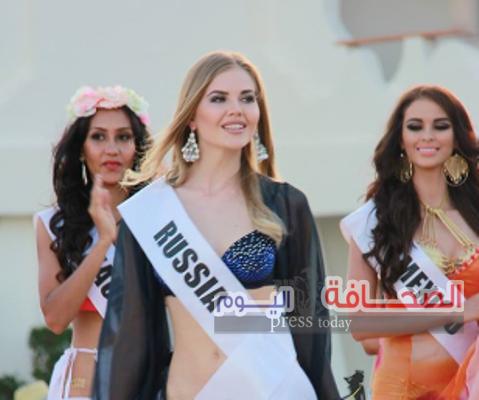بالصور .. حفل إستقبال ملكات الجمال بمدينة دهب