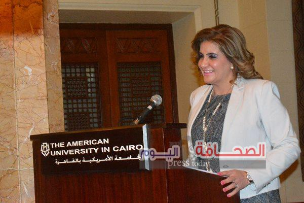 بالصور ..حفل تكريم القيادات النسائية بالجامعة الامريكية