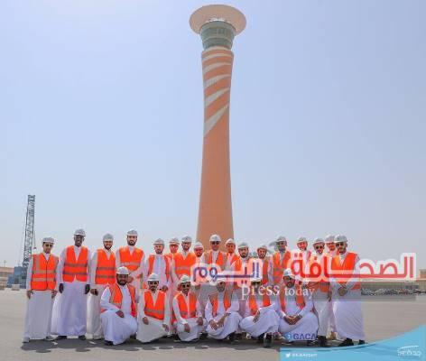 مطار الملك عبد العزيز الدولي يستضيف أعضاء برنامج قادة المستقبل