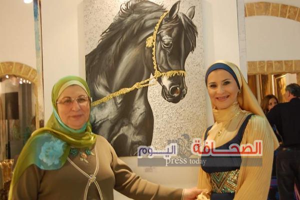 """إفتتاح معرض """"حالة عشق"""" للفنانة هبة الشريف بجاليري الجريك كامبس"""