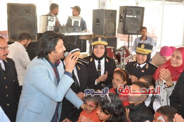 بالصور ..نادى الشرطة بالجيزة يحتفل بيوم اليتيم
