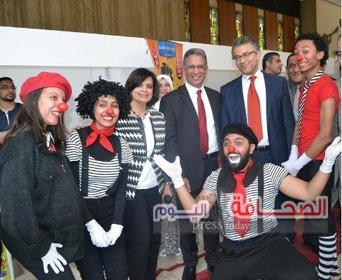 بالصور .. إفتتاح معرض أكسبو مجلة علاء الدين 2017