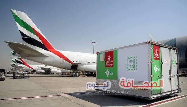 """""""الإمارات للشحن الجوي"""" توفر منتجات """"سكاي فريش"""" للمحافظة على نضارة الزهور والمنتجات الغذائية"""