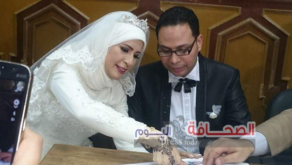 """بالصور :نجوم الصحافة والإعلام  فى حفل زفاف  """"سماح وطارق"""""""