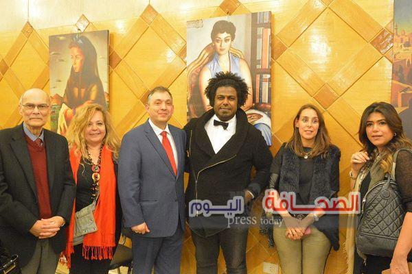 """بالصور .. حفل إطلاق كتالوج الأعمال الفنية للفنان المصرى العالمى"""" محمود سعيد """""""