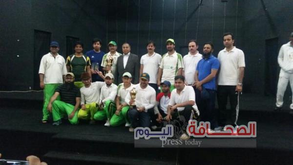 فريق الجالية الباكستان بالقاهرة يفوز بكأس الكريكيت