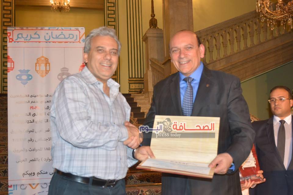 د. جابر نصار يشهد حفل تأسيس قسم الطوارئ بالقصر العينى