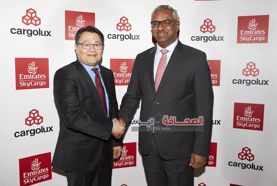 """شراكة إستراتيجية بين الإمارات للشحن الجوي و""""كارغولوكس"""""""