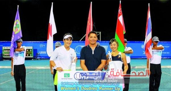 ممثلة لسلطنة عمان:بطلة التنس العالمية فاطمة النبهانية تفوقت علي 64 لاعبة من مختلف دول العالم
