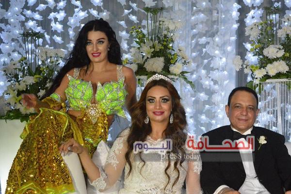 بالصور ..نجوم الفن فى حفل زفاف خالد صفى الدين والفنانة روزانا عمر