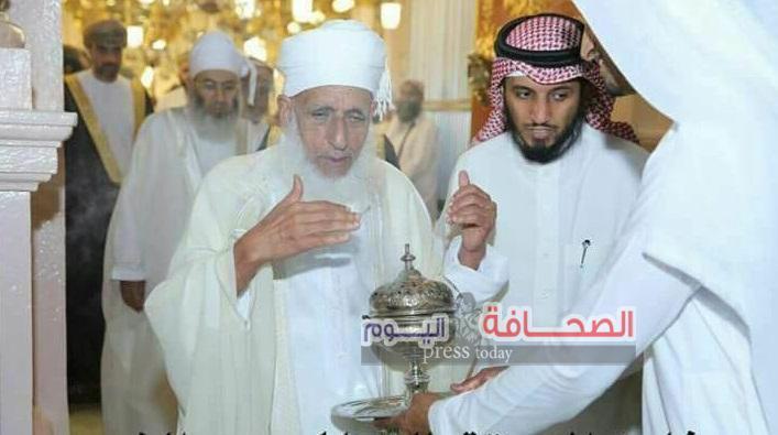 سماحة المفتى الشيخ الخليلى : يشيد بعناية المملكةعلى ماتبذله فى خدمة الحرمين وقاصديهما