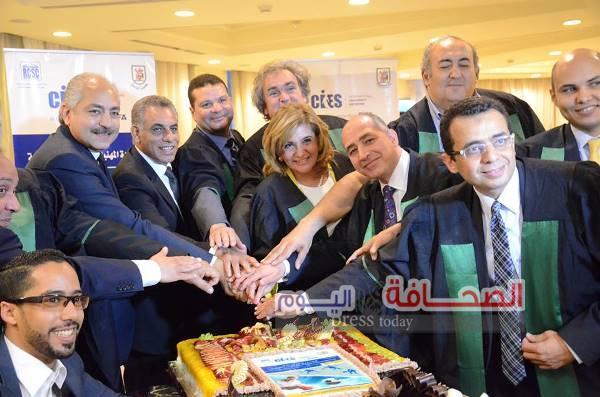 بالصور .. حفل تخرج خريجى الدراسات العليا الرياضية بجامعة القاهرة