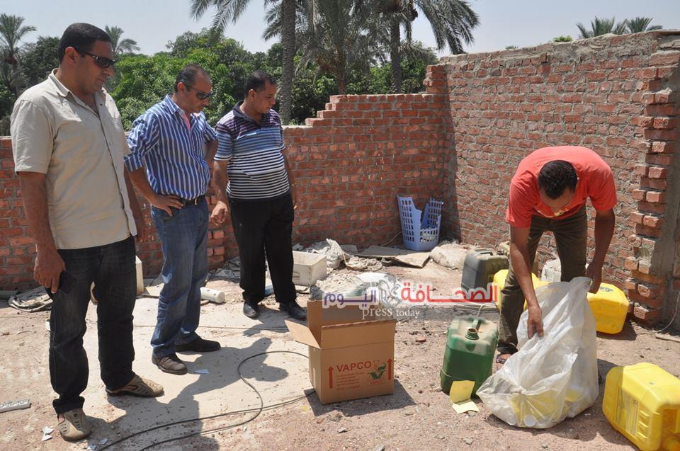 ضبط  أسمدة وأعلاف مسرطنة فى حملة بشمال سيناء
