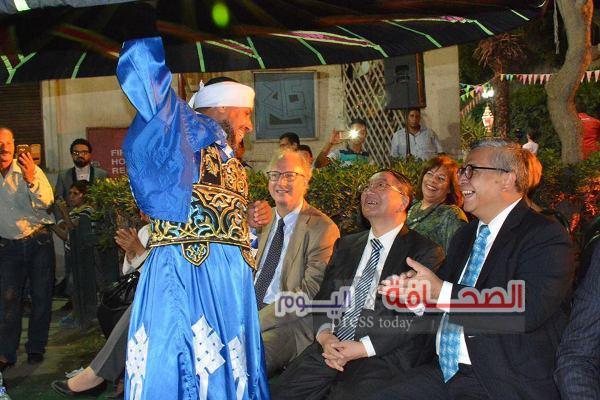 سفراء الدول الأجنبية والعربية يشاركون فى أمسية رمضانية
