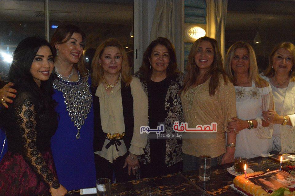 بالصور .. حفل سحور إيمان أبو العطا على نيل الجيزة
